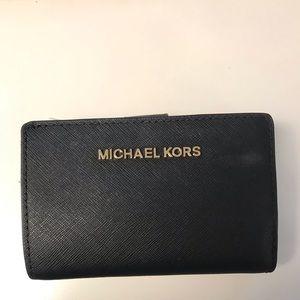 Black Michael Kors Billfold